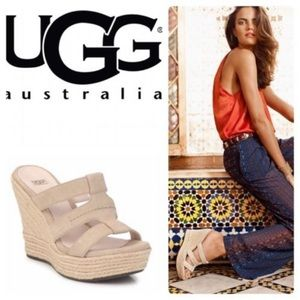 Ugg Wedge Sandals - Size 7